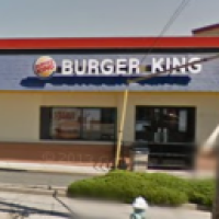 Exterior of Burger King restaurant on Linden Boulevard restored