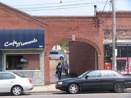Small Businesses along Elmont Road