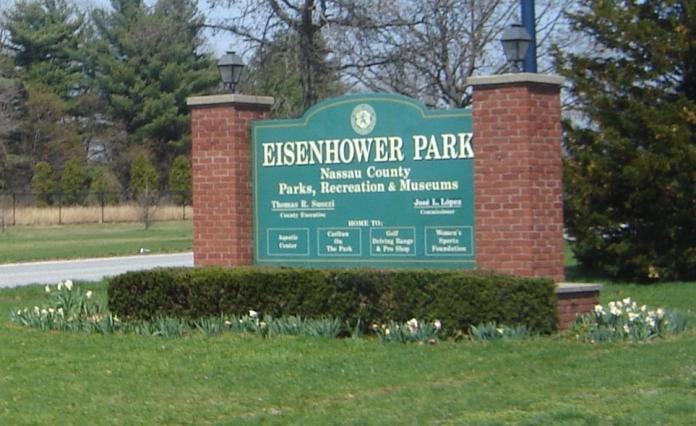 Eisenhower_Park_West_Gate