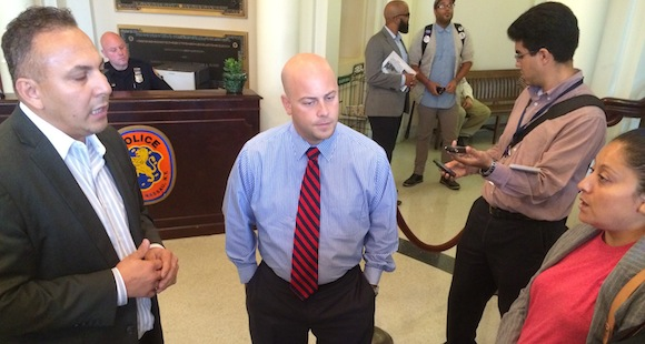 Long Island Wins - Language Access Nassau Cty Spokesman Brian Nevin ctr