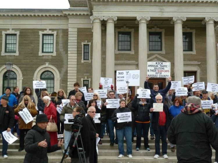 No Speed Cameras Protest FB