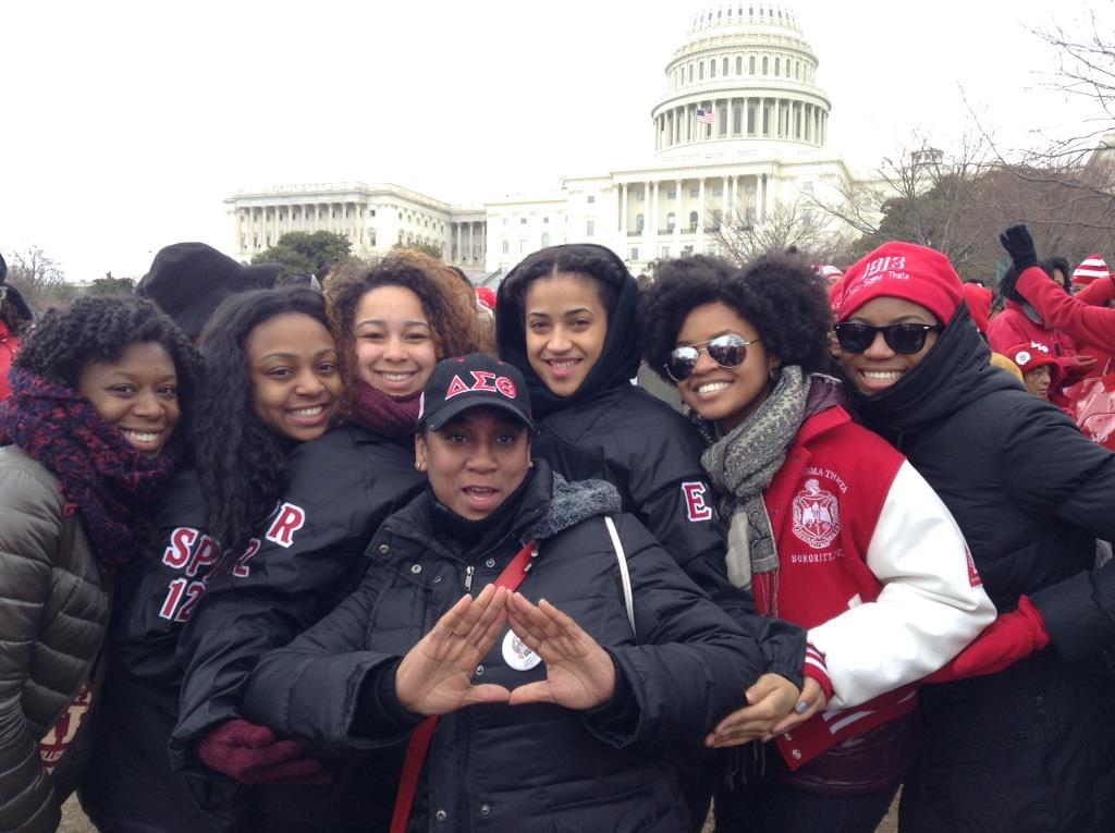 Leslie - Delta Sigma Theta Sorority Inc - We Started Here - The Elmont Excelsior