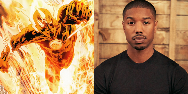 Johnny Storm The Human Torch Michael B Jordan Marvel Fantastic 4  On Fire Inspirational Blog Crystal Haynes Elmont Excelsior