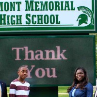 Elmont High School Upgrades to Electronic Signs