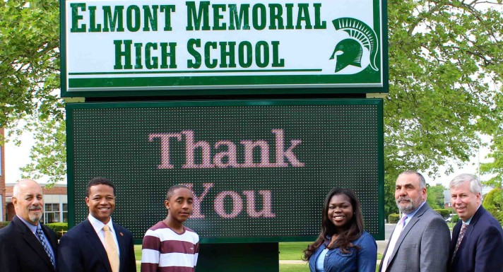Long Island Herald - Elmont HIgh School - Electronic Signs - The Excelsior