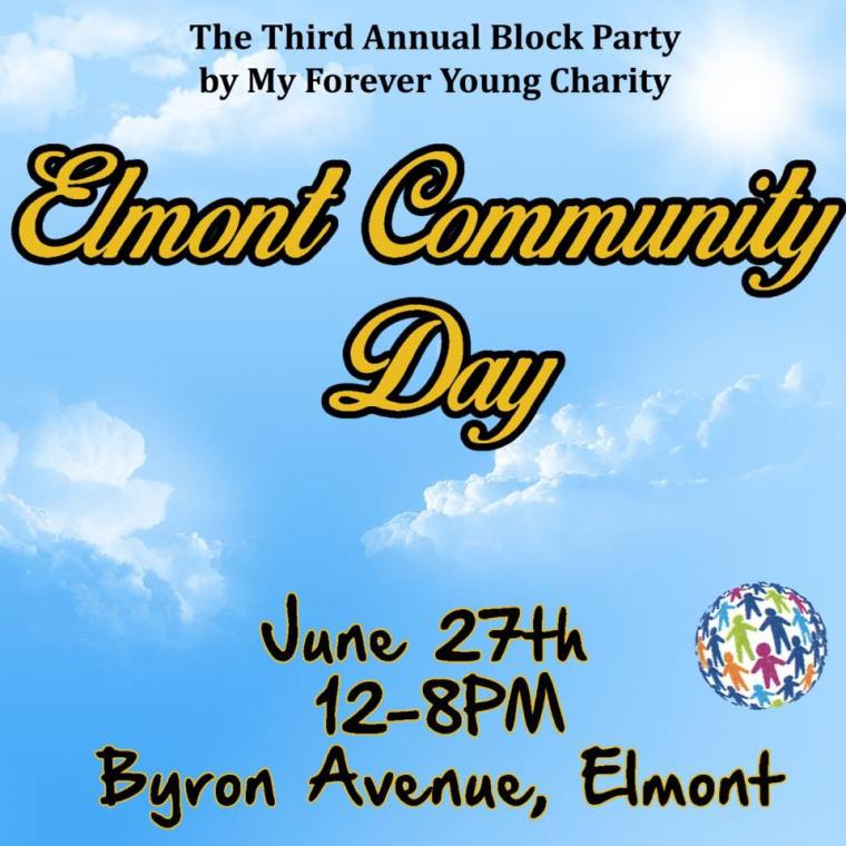 My Forever Young Charity Inc - Elmont Community Day - The Excelsior
