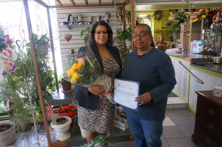 Michaelle Solages The Elmont Excelsior 3 Charmaynes Florist and Cake