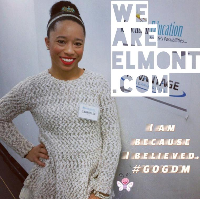 Gabrielle White GW The Voice Motivation The Elmont Excelsior