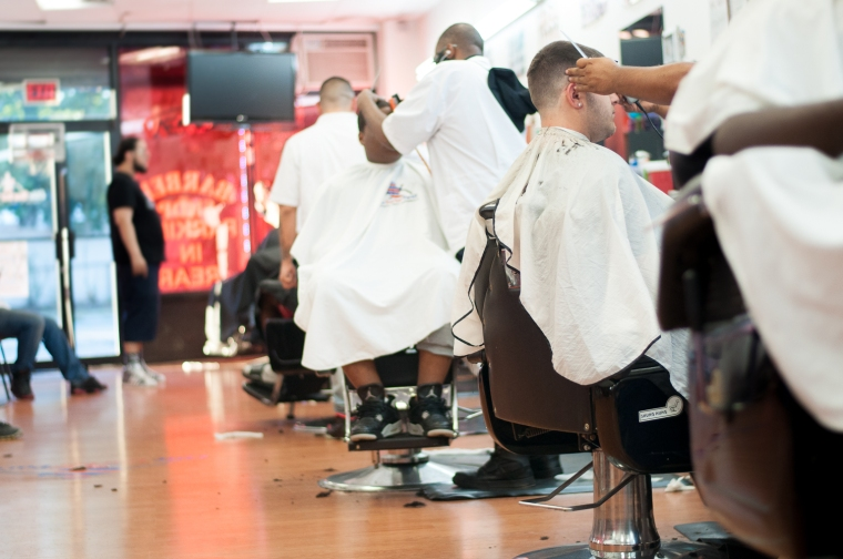 The Elmont Excelsior Community News Four Pillars of Entrepreneurship Elite Barber Parlor Chris Diaz Joe DiDomizio 2