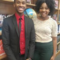 Augusta Uwamanzu-Nna, Lerone Clark Named Valedictorian and Salutatorian of Elmont Memorial's Class of 2016