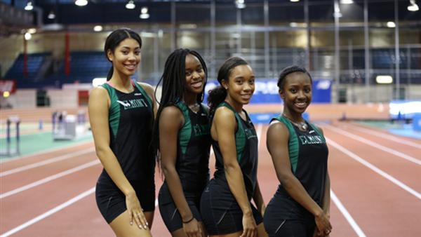 021916_Elmont memorial high school winter track cornell university meet team spartans excelsior we are elmont 1