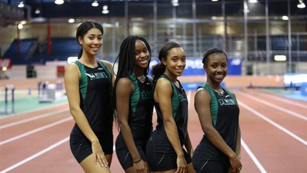021916_Elmont memorial high school winter track cornell university meet team spartans excelsior we are elmont 1