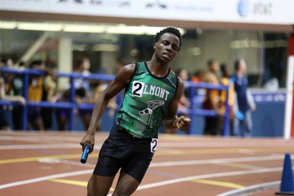 021916_Elmont memorial high school winter track cornell university meet team spartans excelsior we are elmont 2