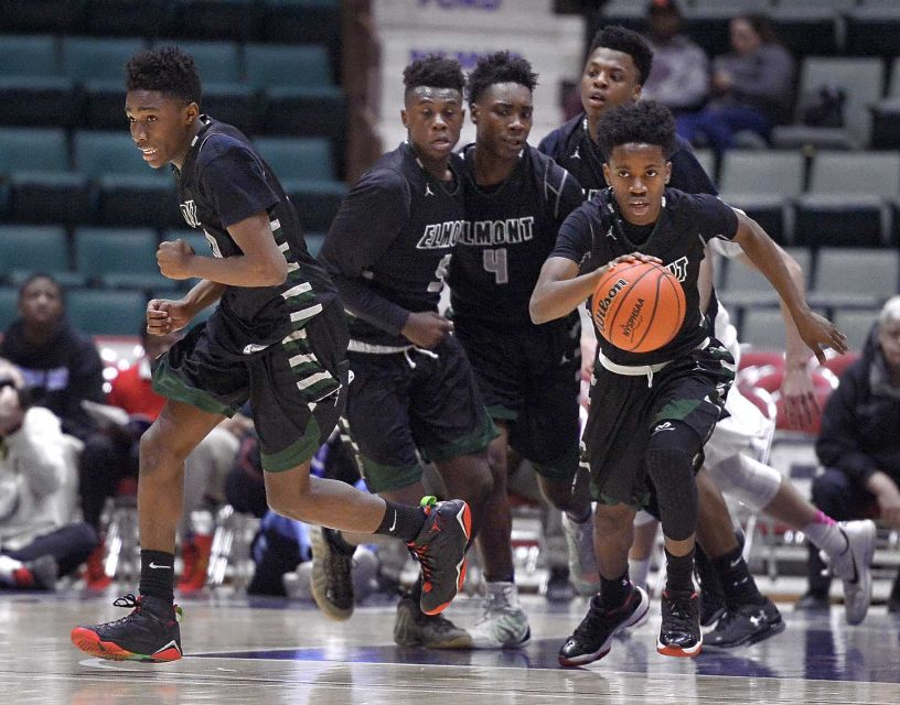 elmont spartans basketball championship troy glen falls new york state adrian kraus newsday