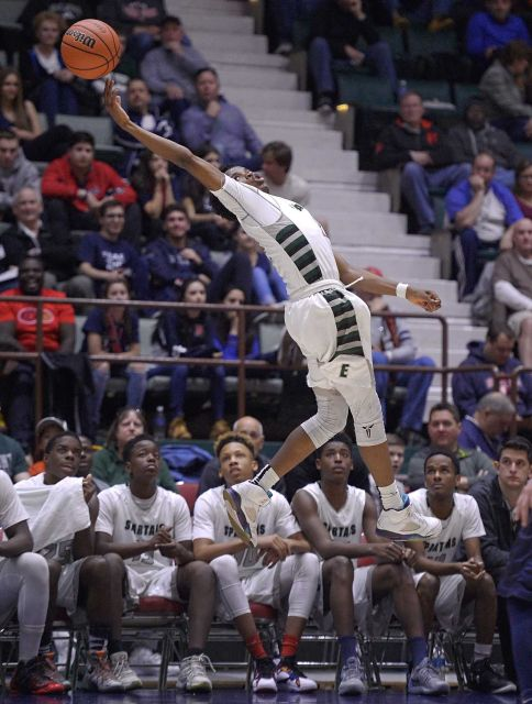 elmont spartans basketball vs byram hills class A semifinals 1