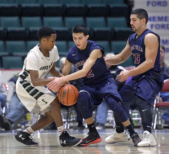elmont spartans basketball vs byram hills class A semifinals 3