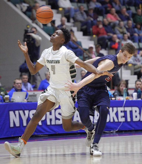 elmont spartans basketball vs byram hills class A semifinals 4