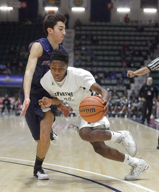 elmont spartans basketball vs byram hills class A semifinals 5