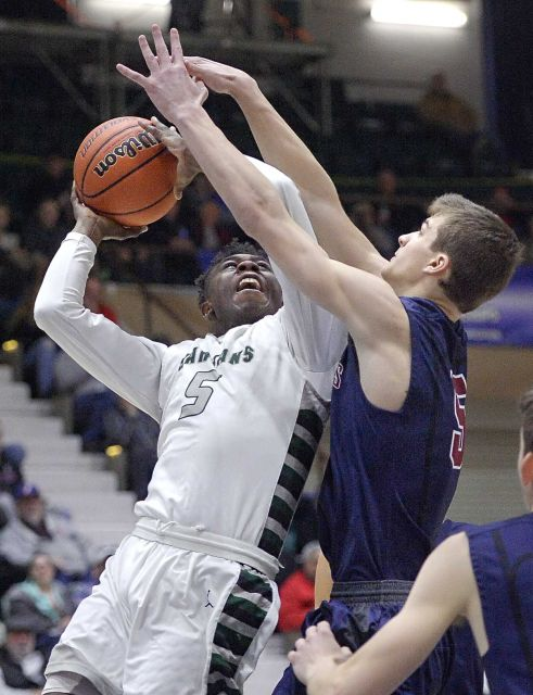 elmont spartans basketball vs byram hills class A semifinals 6
