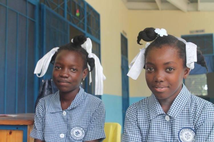 kothi fb students at sainte rose de lima school leogane