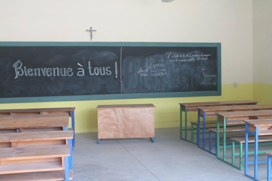 kothi leogane classroom