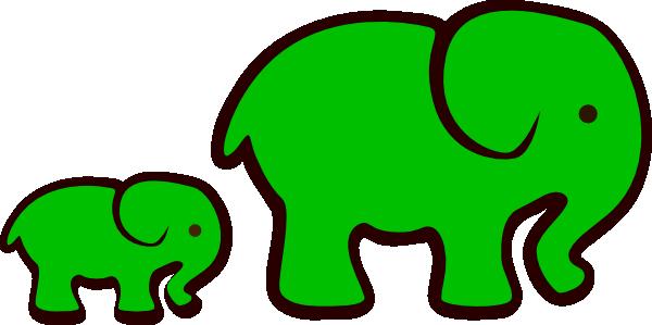 green-elephants-clip-art-fest