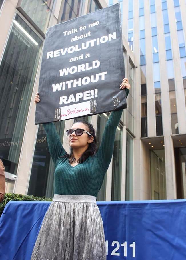 protesting rape