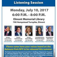 TONIGHT: Elmont Residents Unite for Public Meeting To Determine the Community's Future