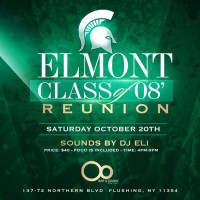 Elmont Class of 2008 Reunion: October 20th